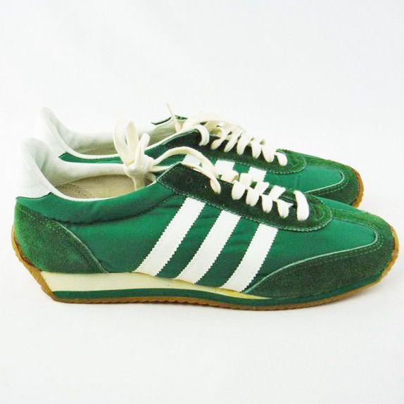 41706f4ac6bb 1970s green Sears The Winner II rare vintage sneakers