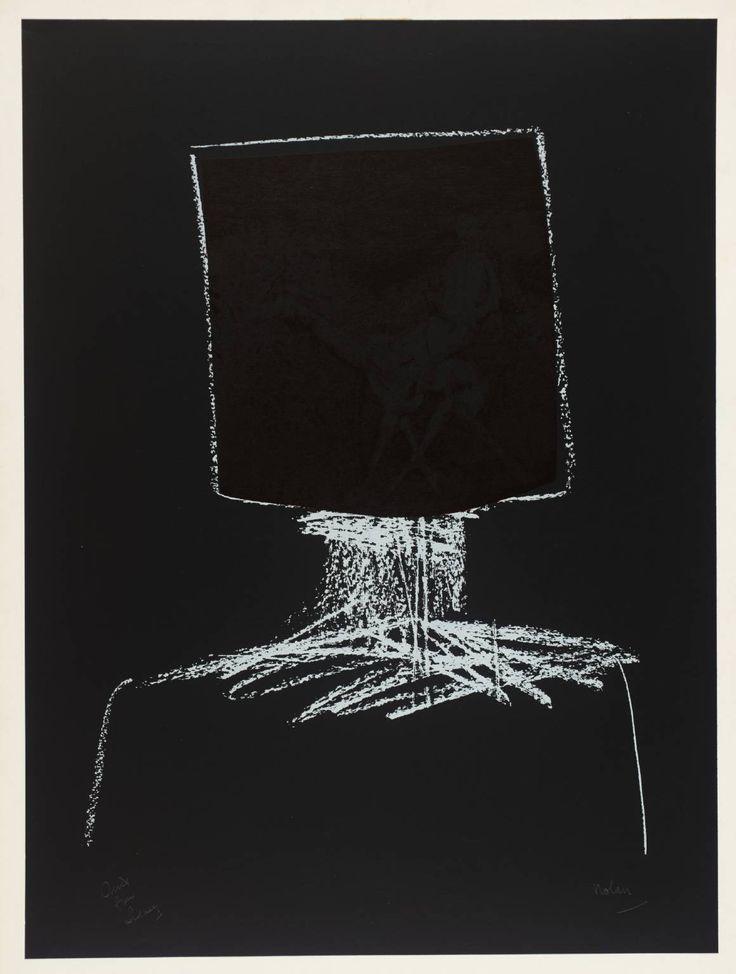 Sidney Nolan ~ Kelly, 1964 (screenprint on paper)