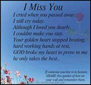 Lost my Fiance, Best Friend, Father of our Son & Grandfather of our beautiful Grand Baby 25 yrs ago today...