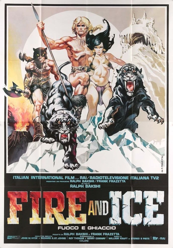 Image result for fire and ice movie poster