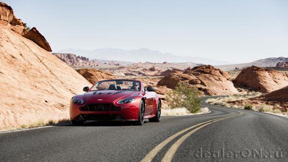 Родстер Астон Мартин V12 Вантаж S / Aston Martin V12 Vantage S Roadster