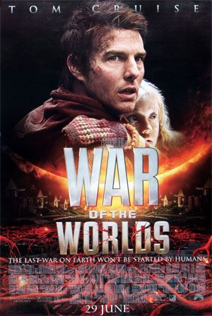 War Of The Worlds (2005) Tom Cruise, Dakota Fanning, Miranda Otto.  Ray is a divorced dockworker whose children are staying with him when a fleet of spaceships appears. Forced to become the protective father he's never been, Ray scrambles to usher his kids to safety in this loose adaptation of H.G. Wells's novel...18 - Frankly a bit boring.