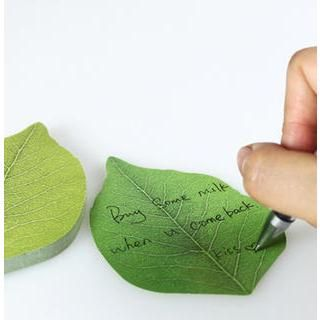 Buy 'Cute Essentials – Leaf Sticky Notes' with Free International Shipping at YesStyle.com. Browse and shop for thousands of Asian fashion items from China and more!