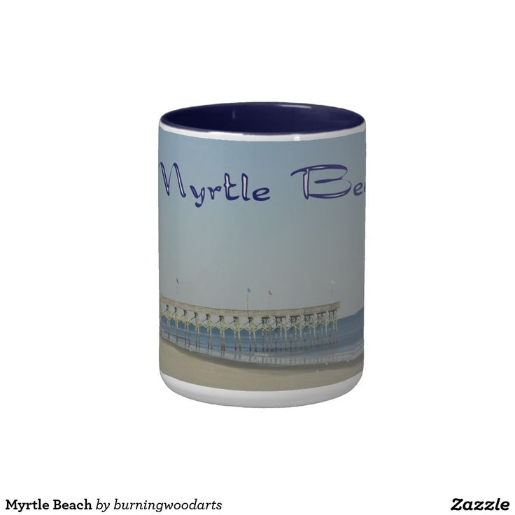 Myrtle Beach Classic White Coffee Mug