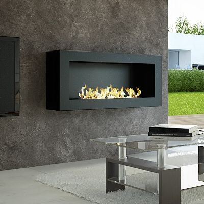 Ethanol fireplace and Corner fireplace layout