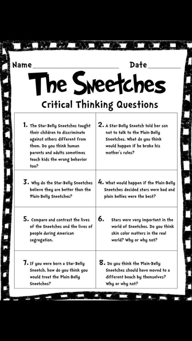 The Sneetches guidance lesson. The book does a great job talking about discrimination in a fun, Dr. Seuss way!