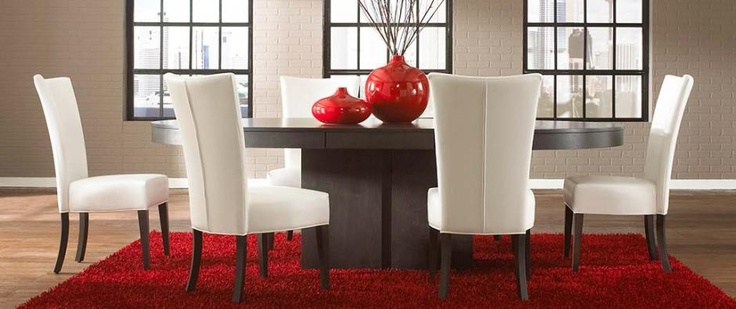 Oval top pedestal table love Dining room furniture chairs
