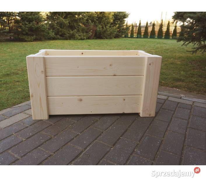 Donica Skrzynia Drewniana Kwietnik Dowolny Wymiary Blonie Sprzedajemy Pl Outdoor Furniture Outdoor Storage Box Outdoor Decor