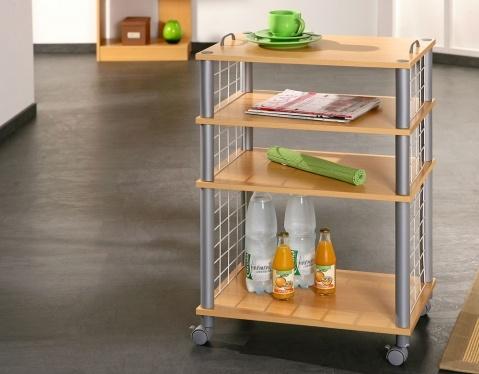 Der Küchenwagen OLIVETO glänzt mit seiner Vorliebe für clevere Detaillösungen wie die handlichen Griffe an der Arbeitsplatte. Nicht zuletzt die herausragende Verarbeitungsqualität macht OLIVETO zum Liebling von kreativen Köchen.    Maße & Materialien    56 x 37 x 81 cm    Küchenwagen holz; Küchenwagen buche, KF-Board; Buchedekor