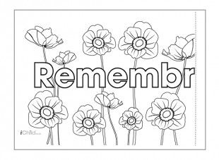 This Remembrance Day Banner Can Be Printed Off Onto Two Sheets Of A4 Paper Or Card