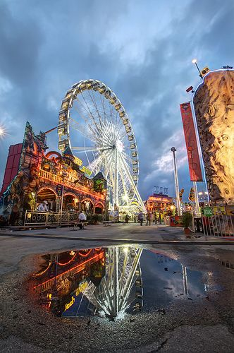 Houston Livestock Show and Rodeo Carnival - 2nd biggest rodeo in the world. Biggest in the USA