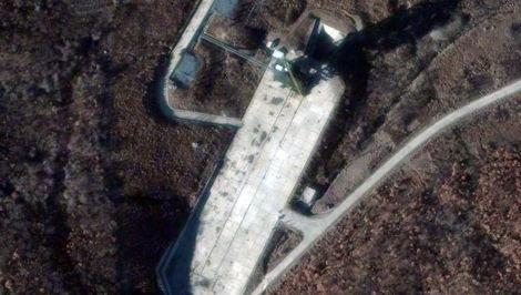 Foto Un satélite espía detecta actividad en el cosmódromo de Corea del Norte