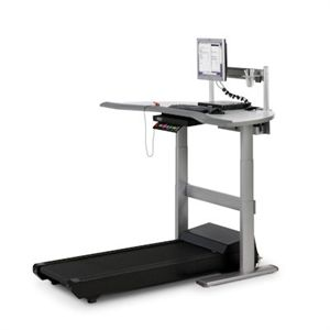 Walkstation - For all of the times you have wished you could have been more productive in your extremely busy day, Steelcase has introduced the one-of-a-kind Walkstation, a surprisingly practical innovation which combines a work desk with a low-speed treadmill - Visit Healthyback.com or call us at 888-469-2225.