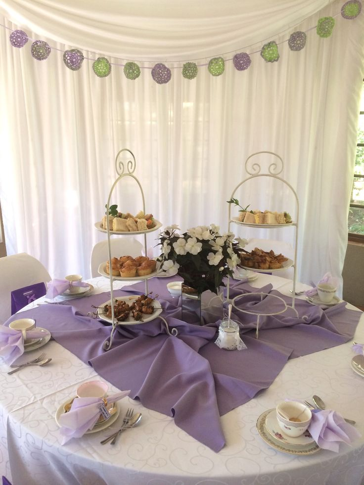 High Tea @ Three Oaks Function Venue in Centurion Pretoria South Africa