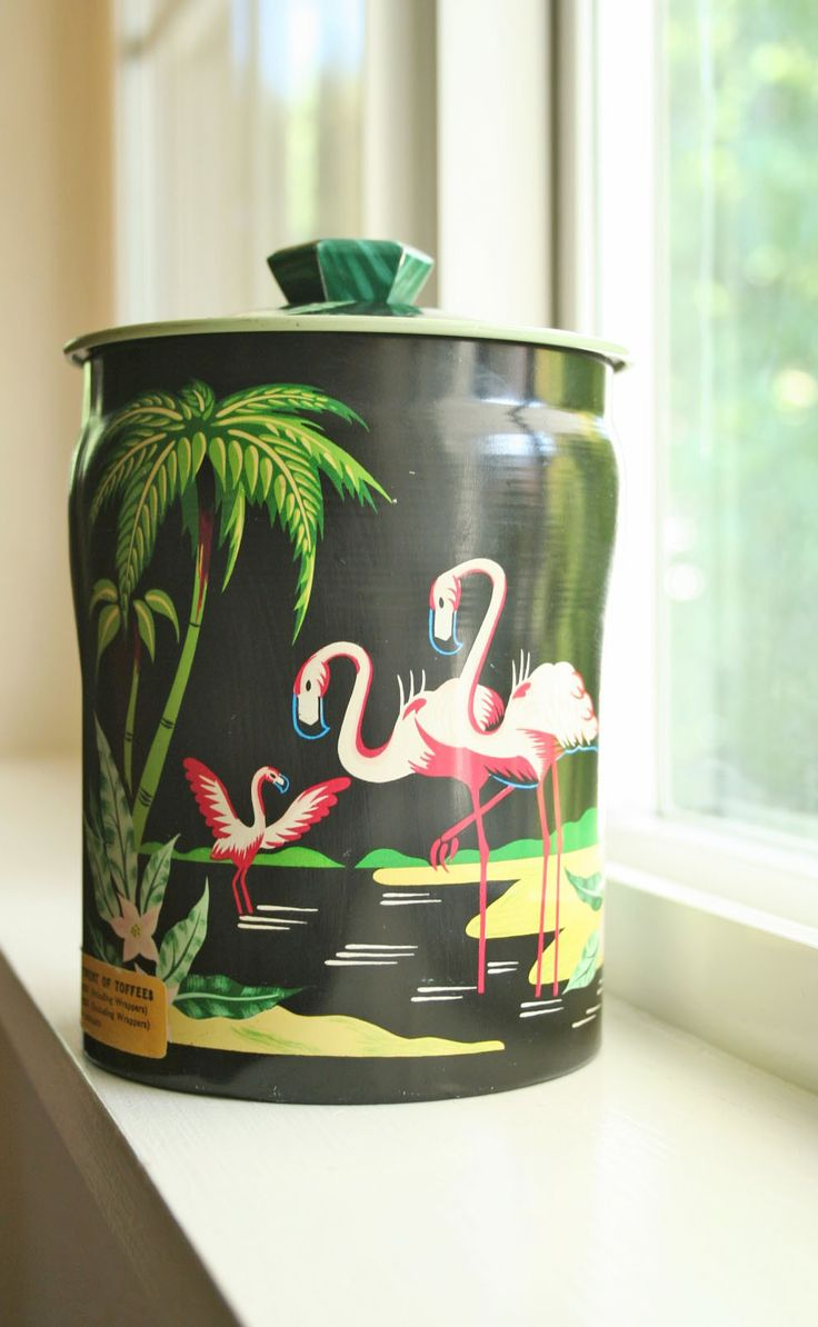 715 best vintage tin collecting images on pinterest vintage tins vintage tropical tin tropical kitchentin containerstea