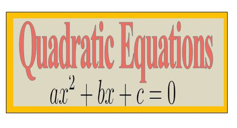 FREE Study materials For Competitive Exams: Easy way to solve Quadratic Equation for SBI PO