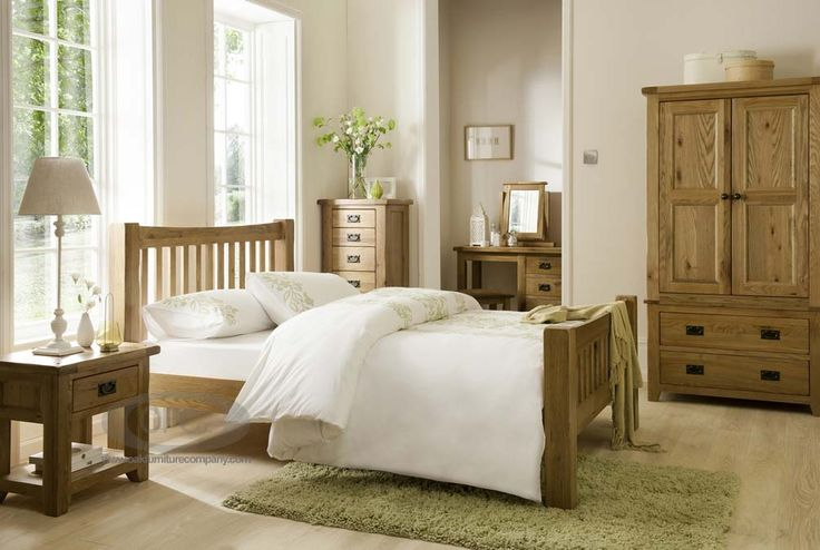 Bordeaux Rustic Oak Bedroom Furniture