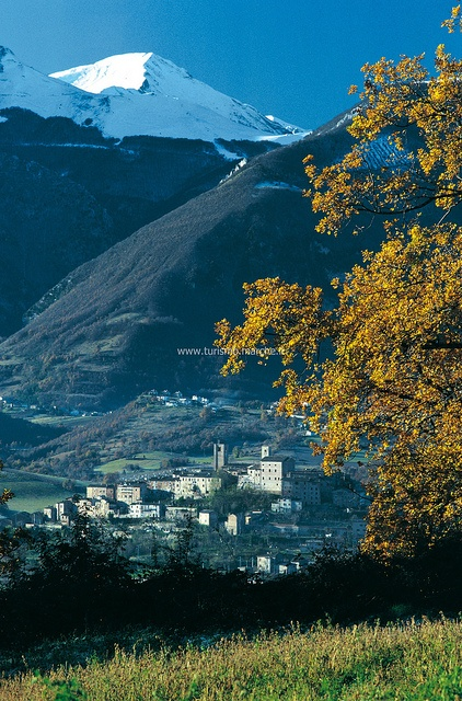 Sarnano, 10 minutes from #bellavallone #LeMarche