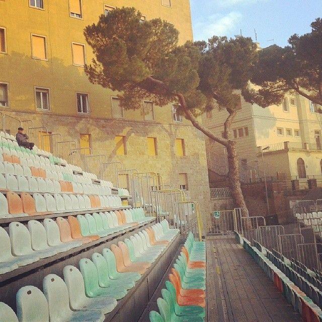 Stadium of Siena's football club A.C. Siena