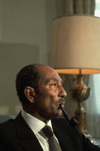 Great Mohamed Anwar Sadat Egypt's president, who was killed treacherously,by, the Muslim Brotherhood terrorist