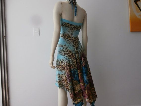 Milonga Tango Dress / Salsa Halter  Dress fits by COCOsDANCEWEAR