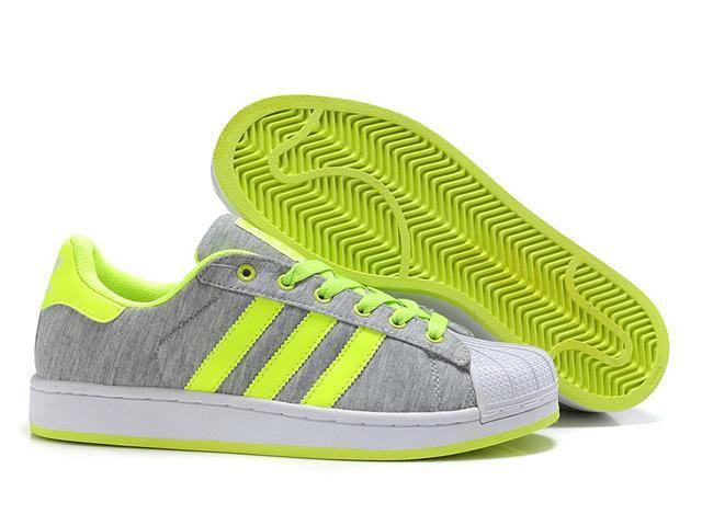 Adidas Superstar En Daim Gris