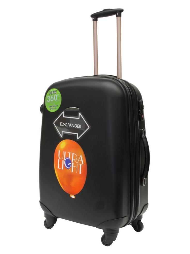 Valise trolley soute à roulettes - GILANCE  - Noir - ZT92L/63