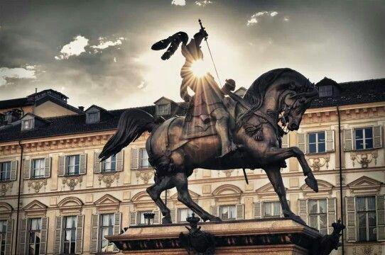 Piazza San Carlo - Torino, Piemonte, Italia.
