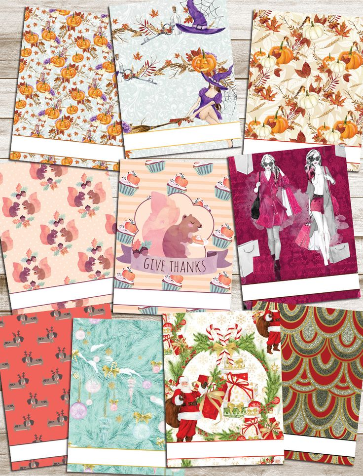 Holiday Planner Covers! Free and lots of options!