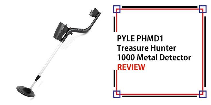 PYLE PHMD1 Treasure Hunter 1000 Metal Detector Review