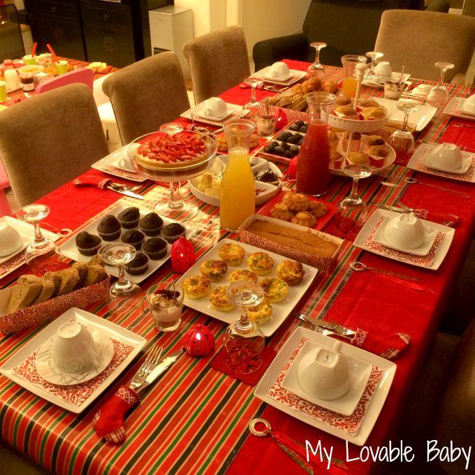 xmas morning  party, My Lovable Baby: Happy moments: Το δικό ΜΟΥ Xmas πάρτυ γενεθλίων. Ω ναι, της μαμάς!