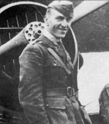 Eddie Rickenbacker: WWI Ace of Aces. Inspiration for the character of Jerry Reinhart.