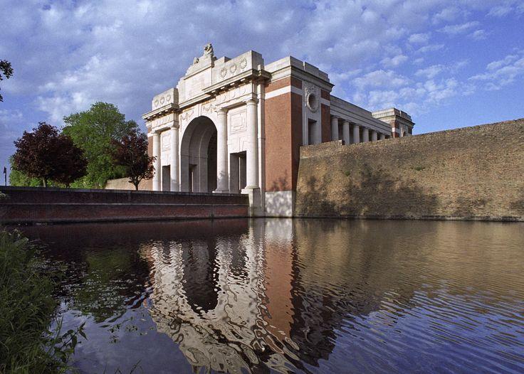 Ypres (Menin Gate) Memorial, Ieper, West-Vlaanderen, Belgium