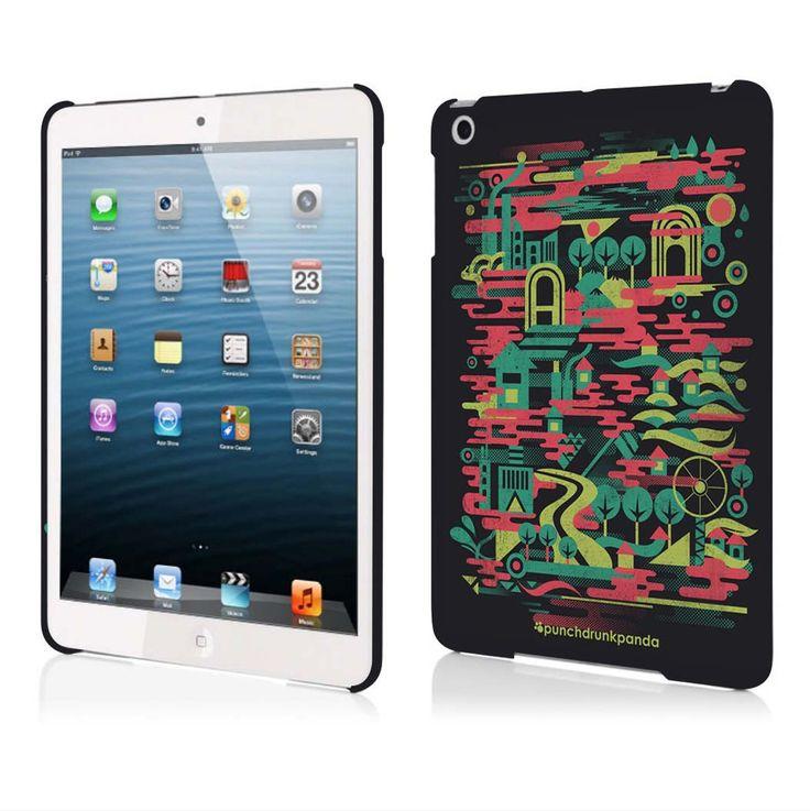 Colorful City iPad Mini Case (design by Dan Fajardo) #punchdrunkpanda #ipad