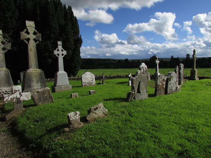 Kilfane Church and Graveyard just outside Thomastown, Co. Kilkenny. Ireland