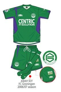 FC Groningen of Holland away kit for 2006-07.