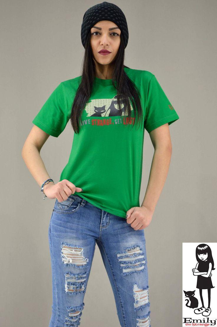 Γυναικείο t-shirt Emily Strange Get Lost | T-shirts - Γυναίκα |