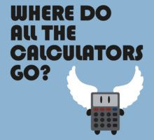 Where do all the calculators go? (Red Dwarf) by jezkemp