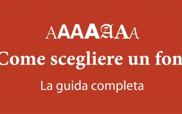 Una guida completa per scegliere un font! (il più adeguato) #font #grafica #tipografia #design