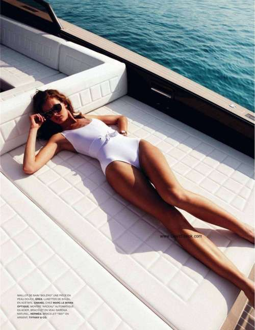 ...fashion swimwear photography on a yacht