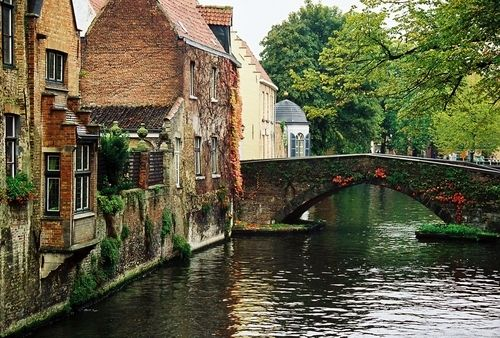 Brugge, Belgium...I would love to go here