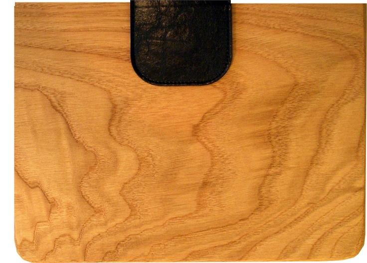 Marbled oak ipad case