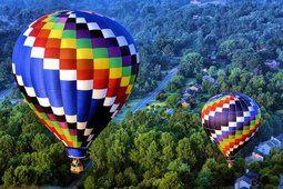 horkovzdušné balóny