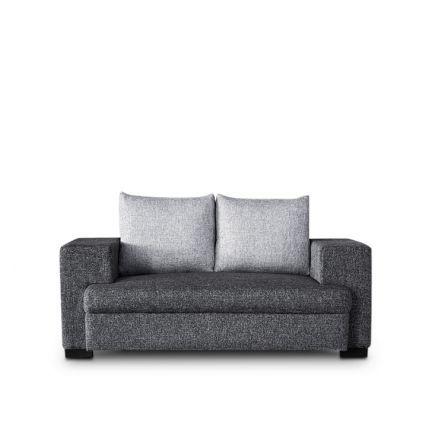 Auspicious Alexandria Two Seater Sofa Sofa Carbon And Slate Grey,Furniture