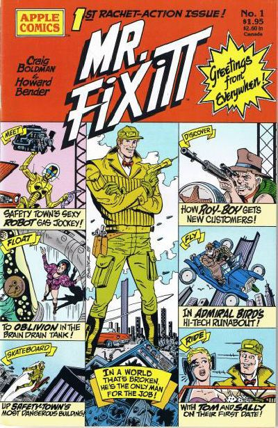Mr. Fixitt (Apple Press) #1 (January 1989) by Craig Boldman and Howard Bender