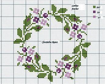 Cross Stitch Flower Patterns Best Wild Flowers Wild Flowers