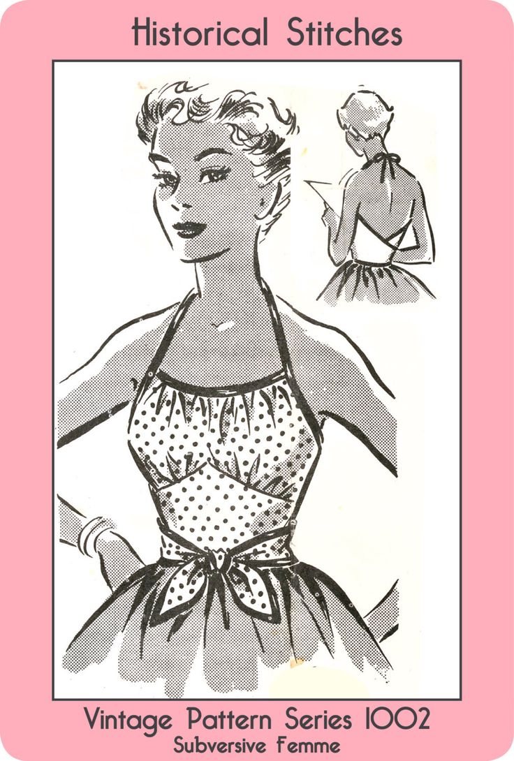 1950s 1-Yard Rockabilly Wrap Top, medium size - Vintage Sewing Pattern PDF 1002 by SubversiveFemme on Etsy https://www.etsy.com/listing/128823138/1950s-1-yard-rockabilly-wrap-top-medium