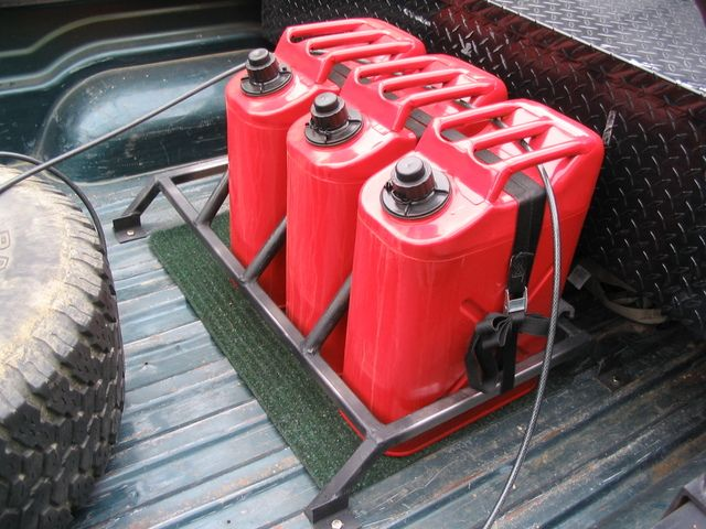 Gas Can Mount Off Road Truck Gear Truck Camping Truck