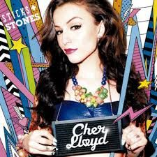 The deluxe addition of her album cover sticks and stones