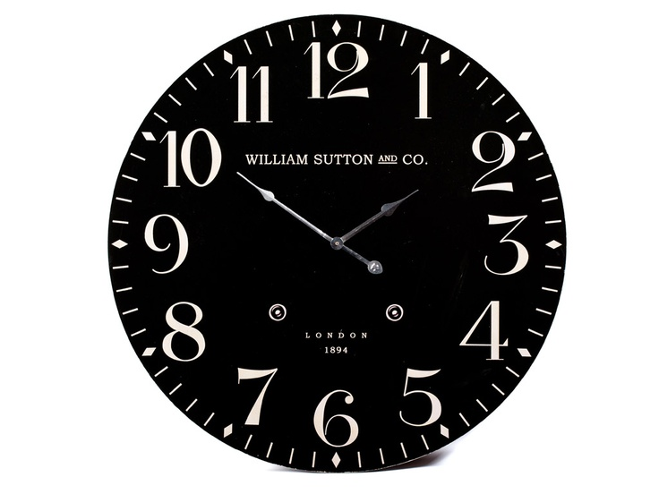 Station Suton Co Clock 60cm